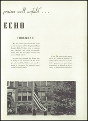 Page 7, 1945 Edition, St Francis High School - Echo Yearbook (Lafayette, IN) online yearbook collection