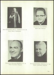 Page 15, 1957 Edition, St Francis High School - Echo Yearbook (Lafayette, IN) online yearbook collection