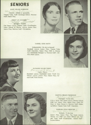 Page 12, 1955 Edition, New Winchester High School - Warrior Yearbook (New Winchester, IN) online yearbook collection