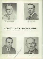 Page 8, 1955 Edition, New Winchester High School - Warrior Yearbook (New Winchester, IN) online yearbook collection