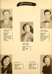 Page 11, 1951 Edition, Saratoga High School - Warrior Yearbook (Saratoga, IN) online yearbook collection