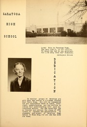Page 7, 1951 Edition, Saratoga High School - Warrior Yearbook (Saratoga, IN) online yearbook collection