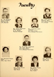 Page 9, 1951 Edition, Saratoga High School - Warrior Yearbook (Saratoga, IN) online yearbook collection