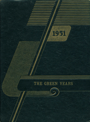 1951 Edition, Harrisburg High School - Green Years Yearbook (Harrisburg, IN)