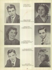 Page 14, 1951 Edition, Harrisburg High School - Green Years Yearbook (Harrisburg, IN) online yearbook collection