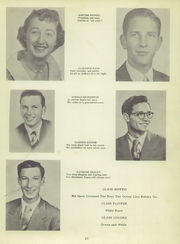Page 15, 1951 Edition, Harrisburg High School - Green Years Yearbook (Harrisburg, IN) online yearbook collection