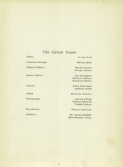 Page 7, 1951 Edition, Harrisburg High School - Green Years Yearbook (Harrisburg, IN) online yearbook collection