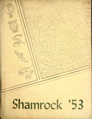 Page 1, 1953 Edition, Somerset High School - Shamrock Yearbook (Somerset, IN) online yearbook collection