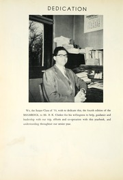 Page 8, 1953 Edition, Somerset High School - Shamrock Yearbook (Somerset, IN) online yearbook collection