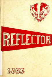 1953 Edition, Union Center High School - Reflector Yearbook (Wells County, IN)