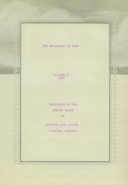 Page 5, 1937 Edition, Lucerne High School - Spotlight Yearbook (Lucerne, IN) online yearbook collection