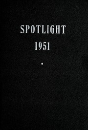 1951 Edition, Pleasant Mills High School - Spotlight Yearbook (Pleasant Mills, IN)