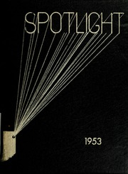 1953 Edition, Pleasant Mills High School - Spotlight Yearbook (Pleasant Mills, IN)