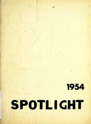 1954 Edition, Pleasant Mills High School - Spotlight Yearbook (Pleasant Mills, IN)