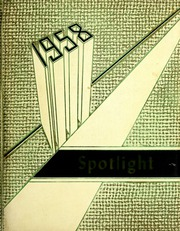 1958 Edition, Pleasant Mills High School - Spotlight Yearbook (Pleasant Mills, IN)