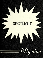 1959 Edition, Pleasant Mills High School - Spotlight Yearbook (Pleasant Mills, IN)