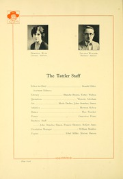 Page 8, 1930 Edition, Niles High School - Tattler Yearbook (Niles, MI) online yearbook collection