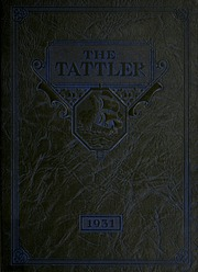 1931 Edition, Niles High School - Tattler Yearbook (Niles, MI)