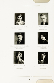 Page 16, 1932 Edition, Niles High School - Tattler Yearbook (Niles, MI) online yearbook collection