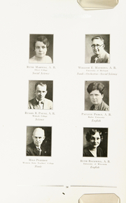Page 18, 1932 Edition, Niles High School - Tattler Yearbook (Niles, MI) online yearbook collection