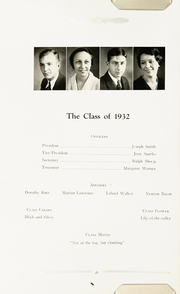 Page 24, 1932 Edition, Niles High School - Tattler Yearbook (Niles, MI) online yearbook collection