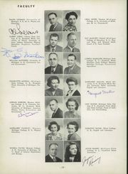 Page 14, 1950 Edition, Niles High School - Tattler Yearbook (Niles, MI) online yearbook collection