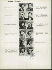 Page 16, 1950 Edition, Niles High School - Tattler Yearbook (Niles, MI) online yearbook collection