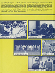 Page 2, 1989 Edition, Niles High School - Tattler Yearbook (Niles, MI) online yearbook collection
