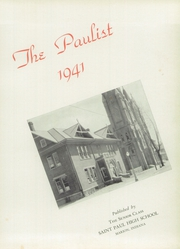 Page 5, 1941 Edition, St Paul High School - Paulist Yearbook (Marion, IN) online yearbook collection