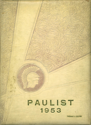 1953 Edition, St Paul High School - Paulist Yearbook (Marion, IN)