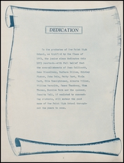 Page 6, 1953 Edition, New Point High School - Momentos Yearbook (New Point, IN) online yearbook collection