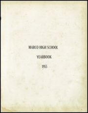 Page 5, 1955 Edition, Marco High School - Yearbook (Marco, IN) online yearbook collection