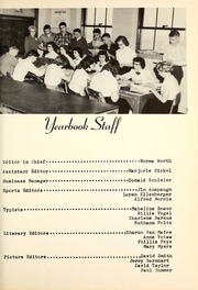 Page 13, 1956 Edition, Poling High School - Cornerstone Yearbook (Bryant, IN) online yearbook collection