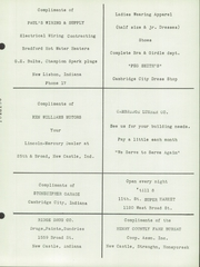 Page 141, 1951 Edition, New Lisbon High School - Nu Lisannial Yearbook (New Lisbon, IN) online yearbook collection