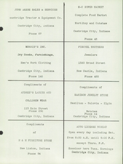 Page 143, 1951 Edition, New Lisbon High School - Nu Lisannial Yearbook (New Lisbon, IN) online yearbook collection