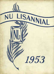 New Lisbon High School - Nu Lisannial Yearbook (New Lisbon, IN) online yearbook collection, 1953 Edition, Page 1