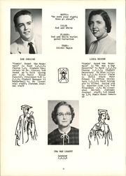 Page 10, 1955 Edition, New Lisbon High School - Nu Lisannial Yearbook (New Lisbon, IN) online yearbook collection