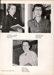 Page 11, 1959 Edition, Belle Union High School - Panther Yearbook (Fillmore, IN) online yearbook collection