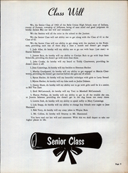 Page 17, 1960 Edition, Belle Union High School - Panther Yearbook (Fillmore, IN) online yearbook collection