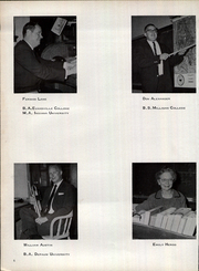Page 12, 1963 Edition, Belle Union High School - Panther Yearbook (Fillmore, IN) online yearbook collection