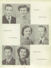 Page 17, 1951 Edition, Shadeland High School - Echo Yearbook (Shadeland, IN) online yearbook collection