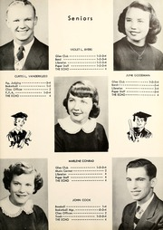 Page 15, 1954 Edition, Shadeland High School - Echo Yearbook (Shadeland, IN) online yearbook collection