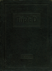Page 1, 1929 Edition, Paragon High School - Triple D Yearbook (Paragon, IN) online yearbook collection