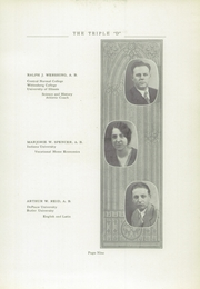 Page 13, 1929 Edition, Paragon High School - Triple D Yearbook (Paragon, IN) online yearbook collection