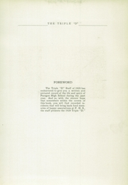 Page 9, 1929 Edition, Paragon High School - Triple D Yearbook (Paragon, IN) online yearbook collection