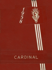 1958 Edition, Flat Rock High School - Cardinal Yearbook (Flat Rock, IN)