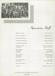 Page 10, 1950 Edition, Spencerville High School - Spenconian Yearbook (Spencerville, IN) online yearbook collection