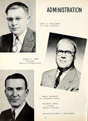 Page 12, 1952 Edition, Spencerville High School - Spenconian Yearbook (Spencerville, IN) online yearbook collection