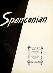 Page 5, 1952 Edition, Spencerville High School - Spenconian Yearbook (Spencerville, IN) online yearbook collection