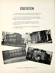 Page 6, 1952 Edition, Spencerville High School - Spenconian Yearbook (Spencerville, IN) online yearbook collection